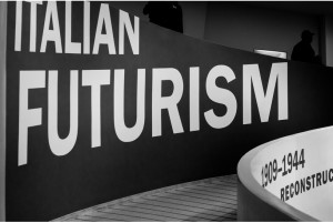 Italian Futurism, Installation views, Guggenheim, New York, 2014