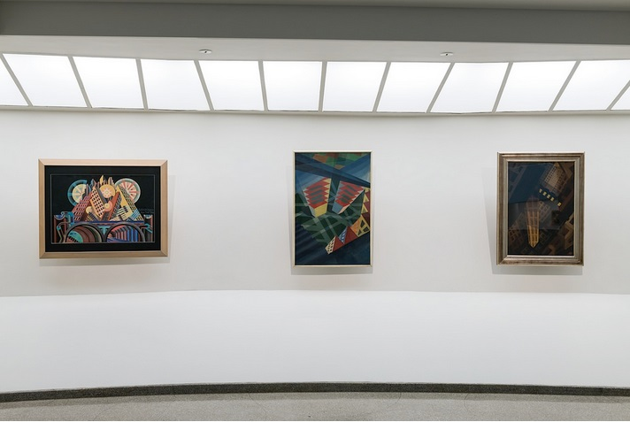 Italian Futurism, Installation views, Guggenheim, New York, 2014
