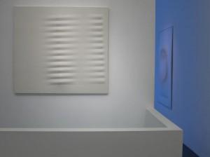 Agostino Bonalumi | Paolo Radi. Magnitudine apparente, Installation view,Milano, 2010, ph. courtesy Isisuf